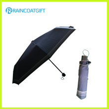 "21"" *8k Wholesale Deep Blue 3 Folding Sun Umbrella"